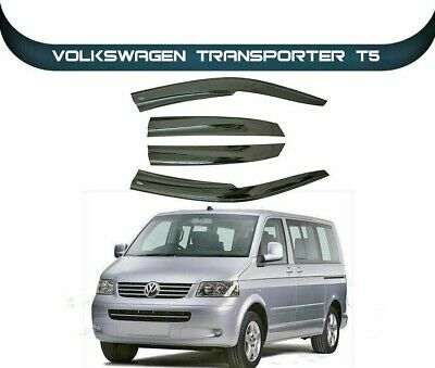 Just Kampers Cab Window Rain /& Wind Deflector Compatible with VW T5 and T6 Transporters Campervans