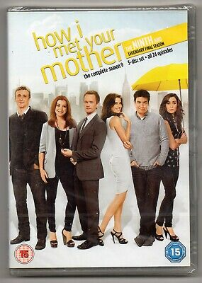 How I Met Your Mother - Complete Season 9  (3 DVD Set 2014)   NEW