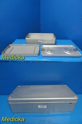 Wagner Drain Steriset Thermoloc Sterilization Case for Instruments~20975