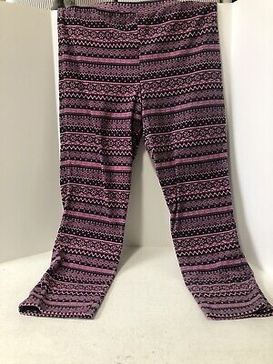 Old Navy Pair of Women's Leggings Size XL  Fleece Patterns