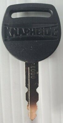 Replacement Key for Std Service Body Latches Key Code 0007 Knapheide 12245858