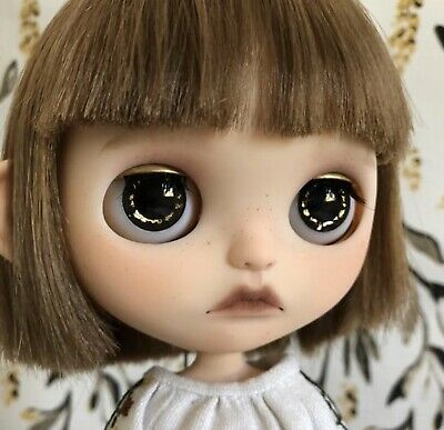 """Takara 12/""""Blythe RBL Rooting With Holes Soft Scalp Factory Nude doll Custom Part"""