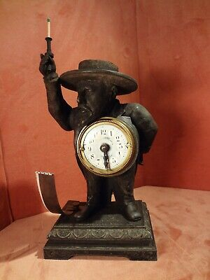 Early and Rare Toulouse Lautrec Match Striker Alarm Clock