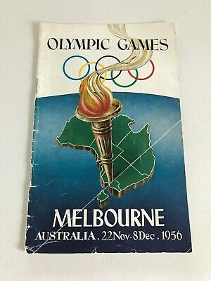 Olympic Games Collectable 1956 Melbourne City Guide 22-Nov 8 Dec
