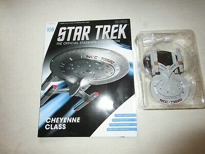 Star Trek Official Starship Collection Number 108 - Cheyenne Class