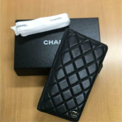 Chanel Notebook cover Matrasse Coco Mark m30635868672 Black Pre-owned From Japan