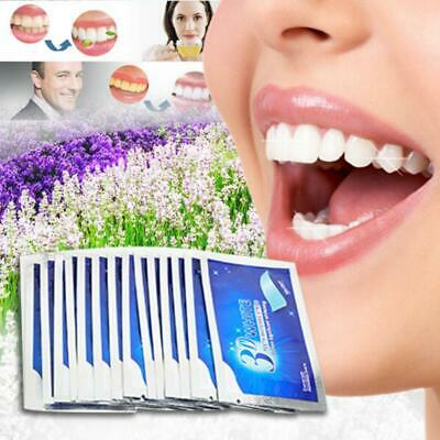 2/28 3D Professional Teeth Whitening Safe Tooth Bleaching White Strips Pouches