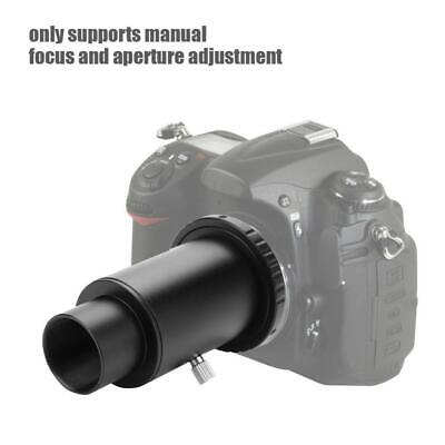 Telescope Extension Tube Lens with T2 Adapter Ring 1.25 Inch for Nikon DSLR