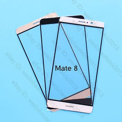 Front Outer Glass Lens Touch Screen Panel Replacement For Huawei Ascend Mate8