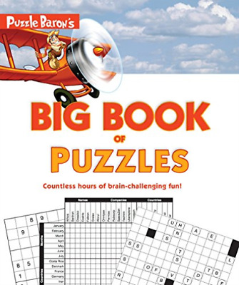 Puzzle Baron (Cor)-Puzzle Baron`S Big Book Of Puzzles (US IMPORT) BOOK NEW