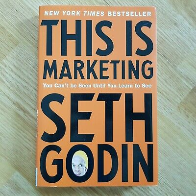 THIS IS MARKETING by Seth Godin Paperback Book