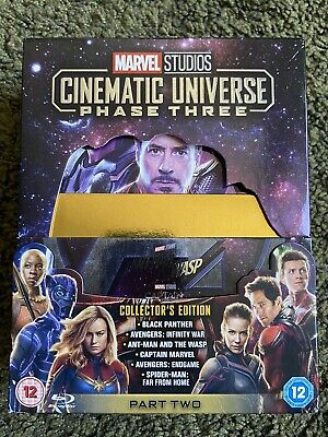 Marvel Studios Cinematic Universe: Phase Three - Part Two (Collector's Edition)