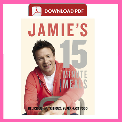 Jamie's 15-Minute Meals By Jamie Oliver 💥✅P-D-F💥✅