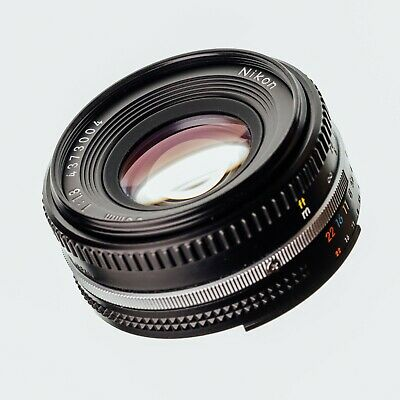 Nikon 50mm f/1.8 Pancake Ai-S Lens - Mark III - Excellent Near Mint Condition UK