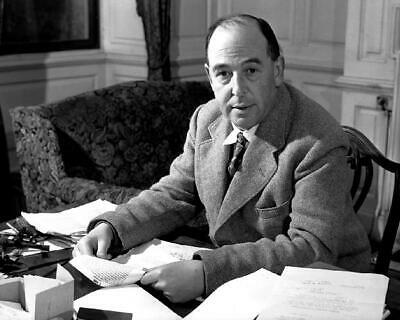 Clive Staples C.S. Lewis, Author of The Chronicles of Narnia 8x10 Photo J-126