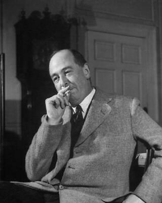 Clive Staples C.S. Lewis, Author of The Chronicles of Narnia 8x10 Photo J-128