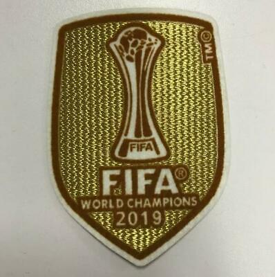 2019 Club World Cup Champions Liverpool Jersey Iron On Patch Badge JUNIOR Size!!
