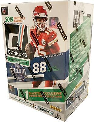 2019 Donruss Football Factory Sealed 11 Pack Blaster Box Fanatics Exclusive