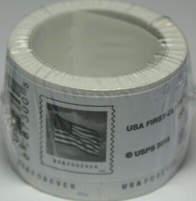 Roll of 100 USPS Forever Postage Stamps ( 1 coil )