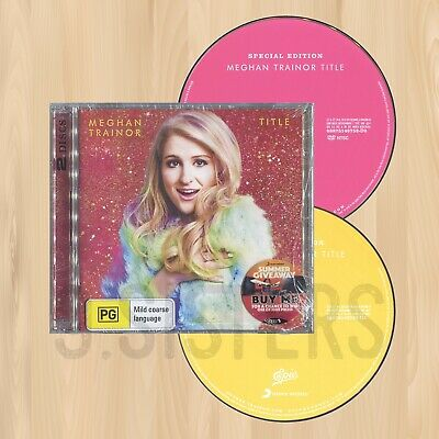 +8 BONUS TRACKS----> MEGHAN TRAINOR Title SPECIAL EDITION CD+DVD Acoustic  0208