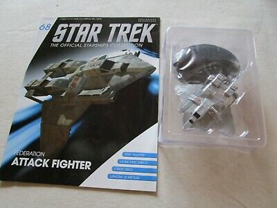Star Trek Official Starship Collection 68 - Federation Attack Fighter