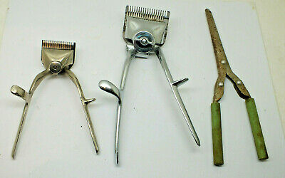 Vintage Collectable Hair Clippers Trimmers & Curling tongs irons barbers