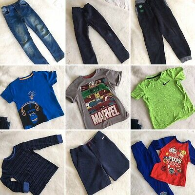 Boys Clothes Bundle 5-6 Year Nike Marvel NEXT Ted Baker Jeans Shorts Paw Patrol