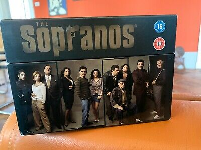 The Sopranos The Complete Series 28 Dvd 1 - 6