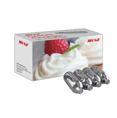 MOSA Cream Chargers Charger Whipped Cream 8g CANISTER Dispenser Cartridge