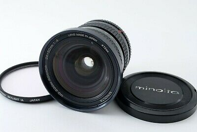 *As is* Minolta MD Zoom Rokkor 24-50mm f/4 from JAPAN*1358