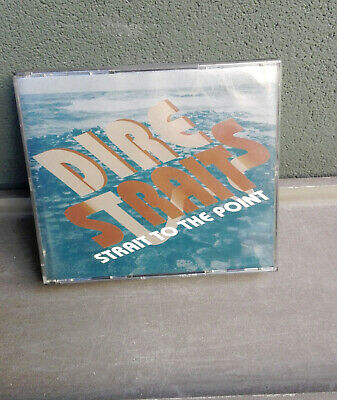 Dire Straits-2 Cd's-Strait To The Point-Rare Edition-On Every Street Tour-Libret