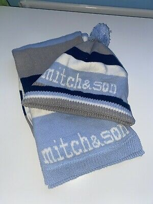 Mitch And Son Hat And Scarf