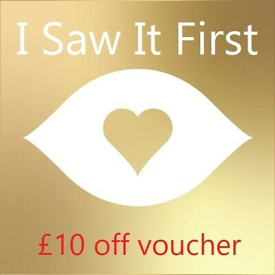 I Saw It First - £10 Off Clothes Shopping Voucher Code