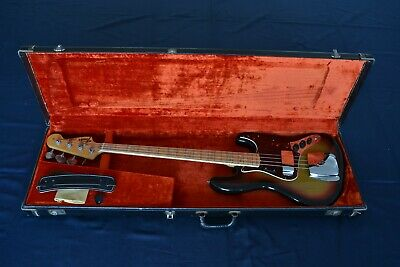 * * * AWESOME - SuperClean 1974 Fender JAZZ BASS  !!! * * *