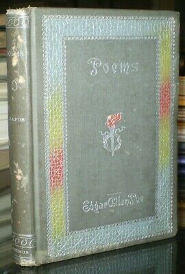 1895, Edgar Allan Poe, Poems, Including: The Raven & Others, Antique Poetry Book