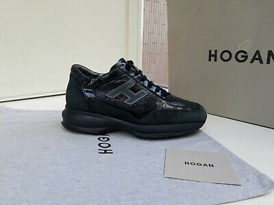 SCARPE HOGAN N.36,5 ORIGINALI INTERACTIVE  DONNA  Women Size SHOES BLU