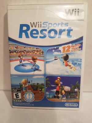 Nintendo WII Wii Sports Resort With Instruction Booklet [LOOK]
