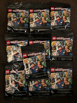LEGO Minifigures 71026 DC SUPER HEROES SERIES X10 SEALED BAGS *UK SELLER*