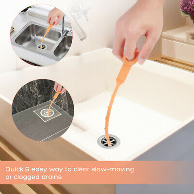 1 Set Drain Protector and Clog Remover Durable Snake Hair Tool for Bathroom Home