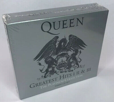 Queen ‎- Greatest Hits I II & III - The Platinum Collection - New & Sealed 3 CD