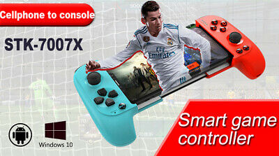7007X Telescopic Bluetooth Wireless Controller Gamepad for Android Phone PC