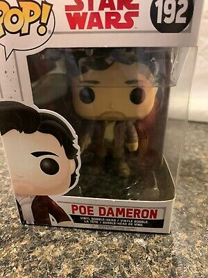 Collectible Figure 14747 Accessory Toys /& Games Funko POP Star Wars: The Last Jedi Poe Dameron