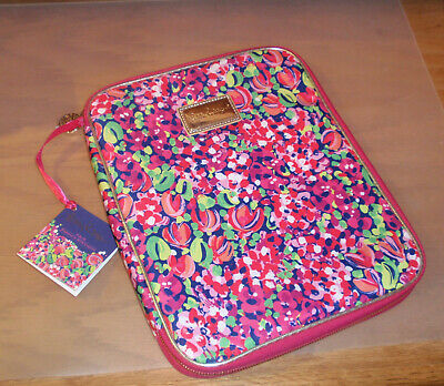 New with Tags LILLY PULITZER~ ZIP AGENDA/TABLET FOLIO ORGANIZER IN WILD CONFETTI