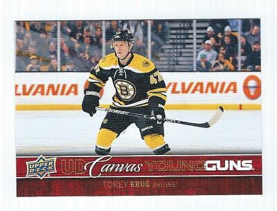 2012-13 Upper Deck YOUNG GUNS CANVAS RC - YOU PICK FROM LIST - YG Rookie 12/13