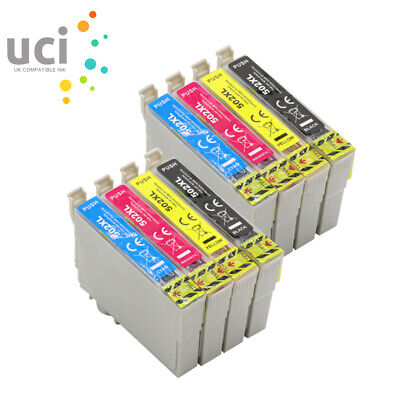 8x Ink Cartridge UCI® fits Epson WF-2860DWF WF-2865DWF XP-5100 XP-5105 502XL