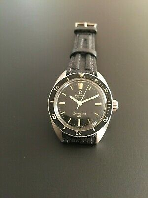 Vintage Stainless Steel Omega Seamaster 120 Automatic 31mm Watch Ref 565.007