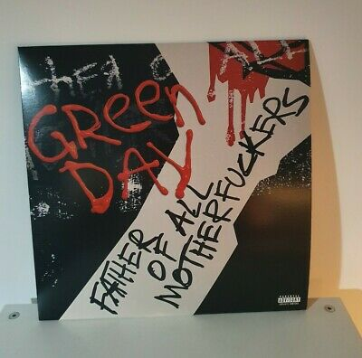 Green Day Father Of All LP Explicit Cover Red & Black Vinyl LIMITED