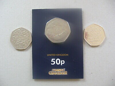 1973 RING OF HANDS 50p COIN - 1998 EU STARS COIN - 2020 BREXIT COIN SEALED BAG