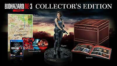 Resident Evil 3 Remake Collector's Edition PS4 - CE Very Limited