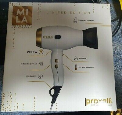 Proxelli MILA White/Gold Dryer Limited Edition